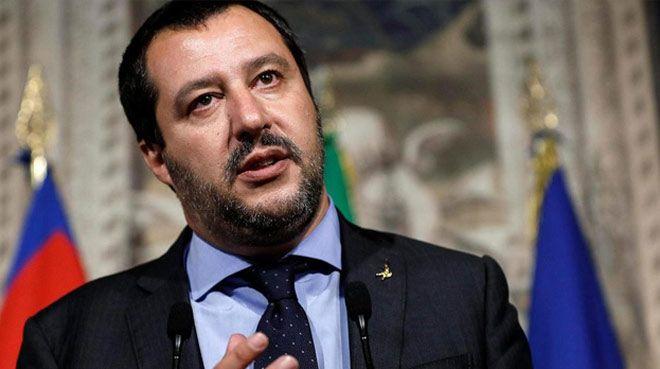 Salvini: Bankalara 15 dakika içinde müdahale edebiliriz
