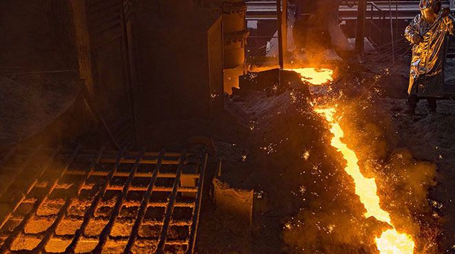Küresel ham çelik üretimi düştü