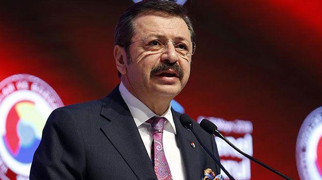 TOBB Başkanı Hisarcıklıoğlu büyüme rakamlarını değerlendirdi
