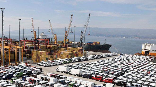 En fazla ihracatı otomotiv endüstrisi yaptı