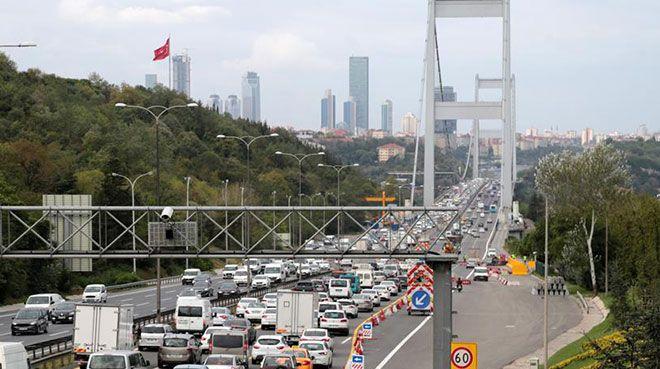 Köprü ve otoyollardan 1,4 milyar lira gelir