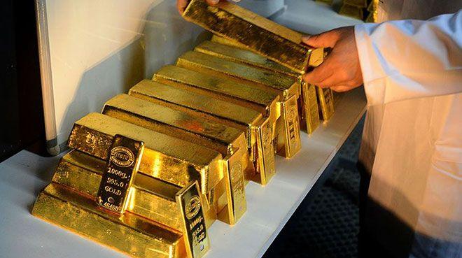 Altın bazlı yatırım fonlarındaki altın miktarında rekor