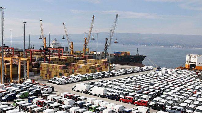 En fazla ihracat otomotiv endüstrisinde oldu