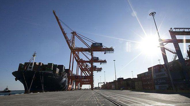 Limanlarda elleçlenen yük miktarı arttı