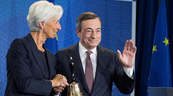 Lagarde bugün görevine başladı