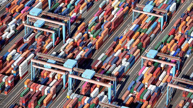 Almanya`da ihracat beklentilerin üstünde azaldı