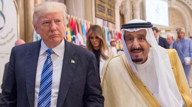 Trump ile Kral Selman enerji piyasalarını görüştü