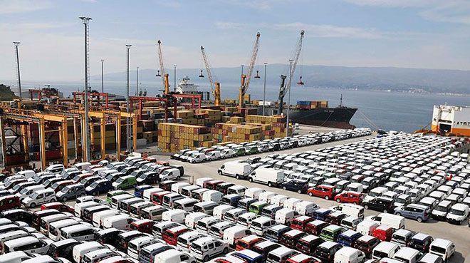 Haziranda en fazla ihracatı otomotiv endüstrisi yaptı