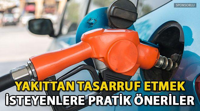 Yakıt tasarrufu için püf noktaları