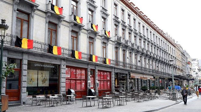 Brüksel`de restoranların 3`te 1`i iflas riski altında