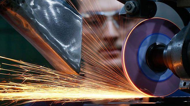 Almanya`da sanayi üretimi ocakta azaldı