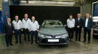 Bakan Varank, Toyota`nın `Corolla Sedan Hybrid` modelini inceledi