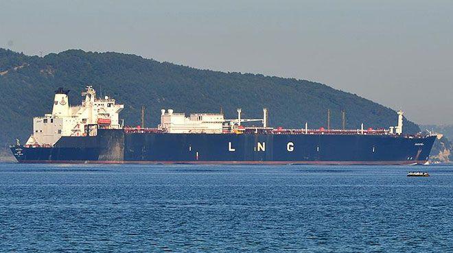 LNG ithalatı 2019`da 1,1 milyon ton arttı