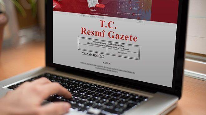 Yapı kayıt belgelerine yönelik düzenleme Resmi Gazete`de