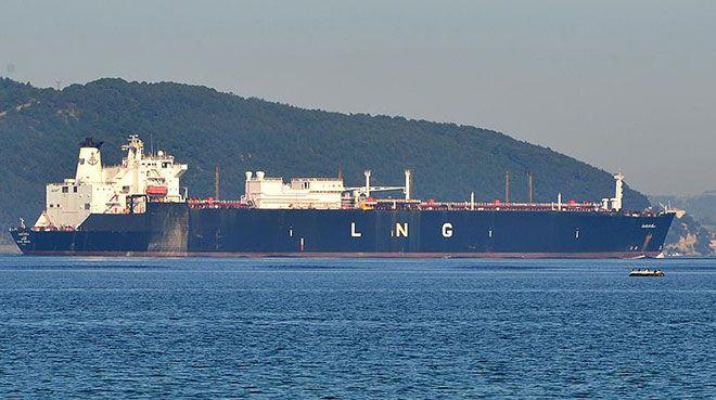 Türkiye`nin LNG ithalatında ABD`nin payı artıyor
