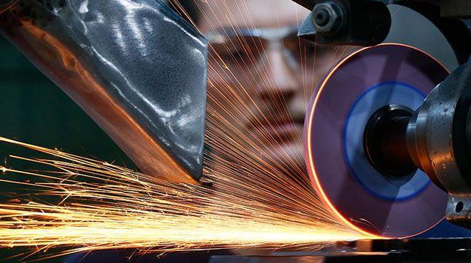Almanya`da sanayi üretimi geriledi