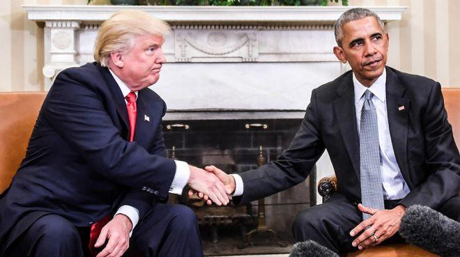 Trump, istihdamda Obama`yı yakalayamadı