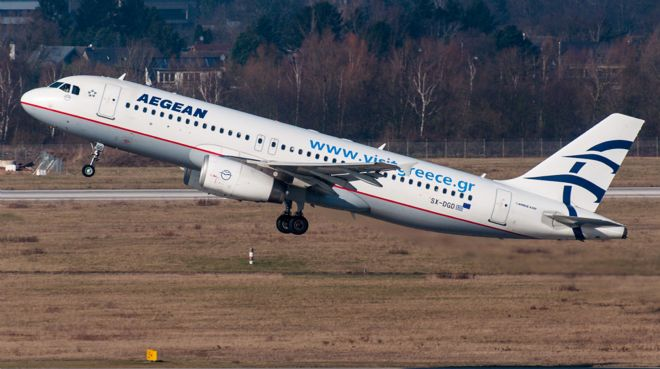 Aegean Airlines ile Airbus`tan 5 milyar euroluk anlaşma
