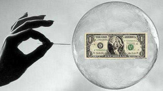 `ABD ekonomisinde balon riski d���k`