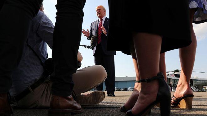 Trump resesyon endişelerini reddetti