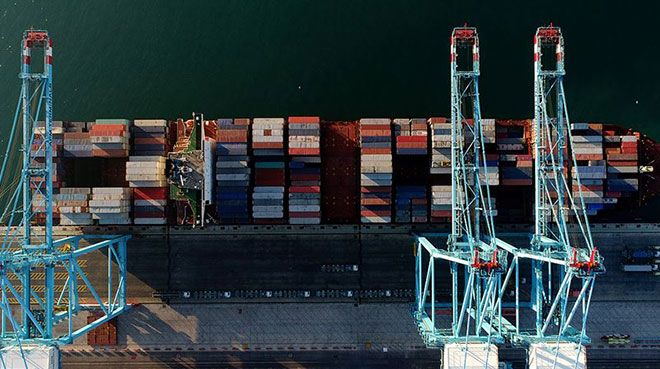 Son 12 aylık dış ticaret açığında 15 yılın en düşük seviyesi