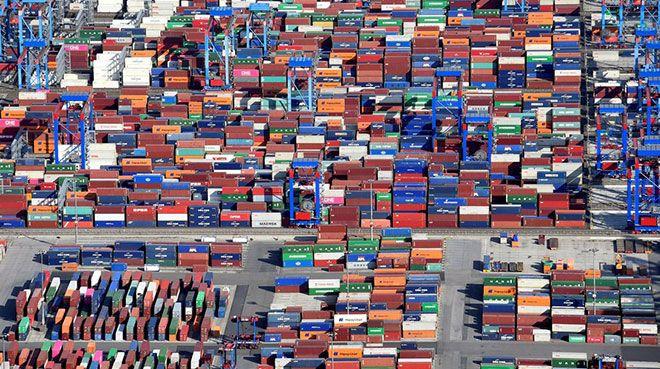 Almanya`nın ihracat tahmini düşürüldü