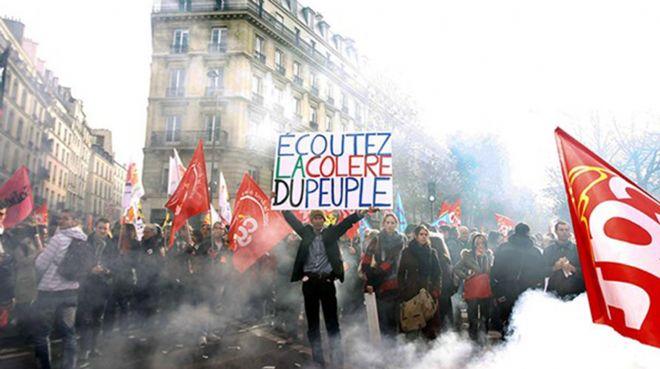 `Fransa`daki grevler ekonomiyi etkiliyor`