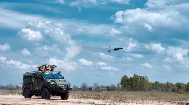 Aselsan füze atıcı sistemi Ukrayna`da