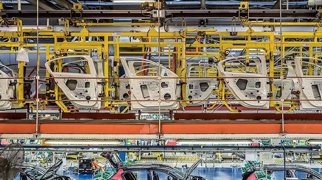 Otomotiv sektöründen `parça` ihracatı