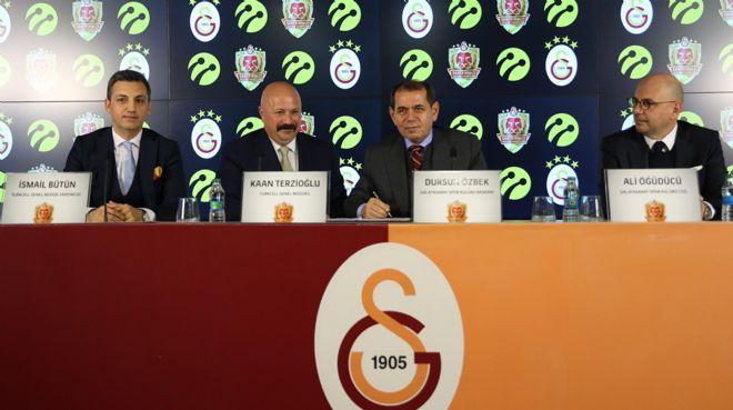 Galatasaraylılar Turkcell ile coşacak