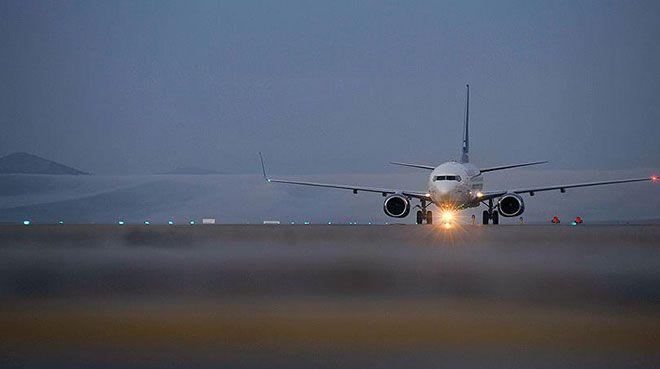 Hava yoluyla taşınan yolcu sayısı 180 milyonu geçti