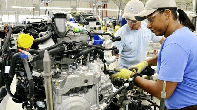 ABD imalat endeksi, tahminlerin üzerinde geriledi