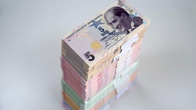 Hazine 6,95 milyar lira borçlandı