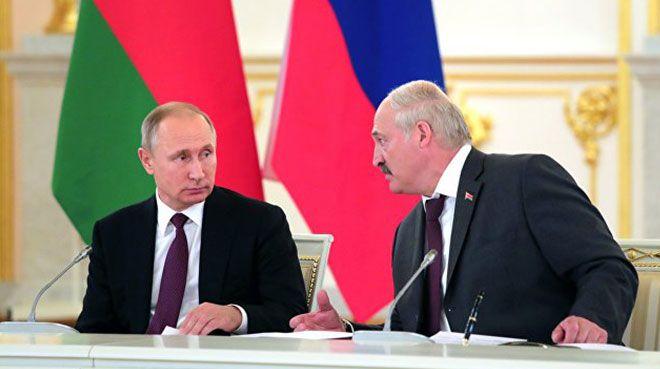 Putin ve Lukaşenko`dan canlı yayında doğal gaz pazarlığı