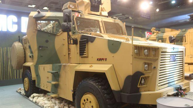 BMC`den Katar ordusuna 85 yeni zırhlı araç