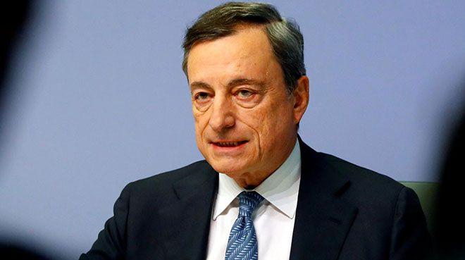 Draghi: Negatif faizlerin banka karlılığına etkisi nötr
