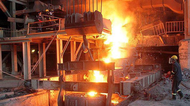 Ham çelik üretimi azaldı