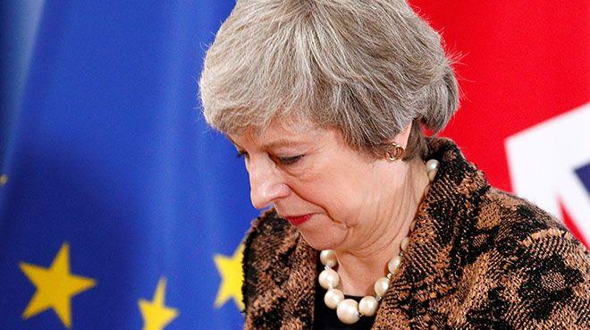 Theresa May`in Brexit planı reddedildi