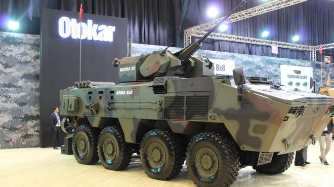 Otokar`dan 433 zırhlı araç satışı