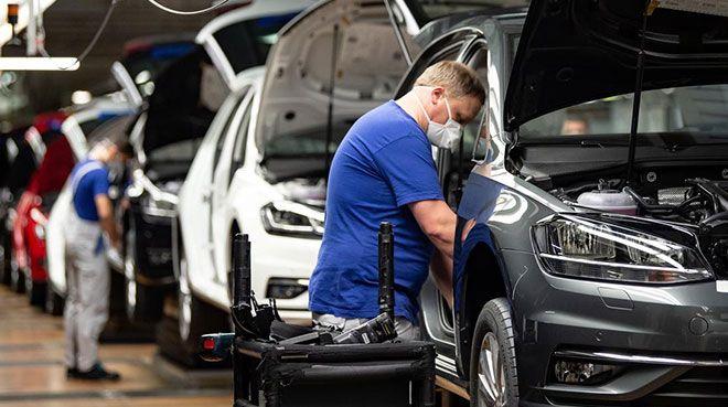 Alman otomotiv sektöründe iş durumu kötüleşti
