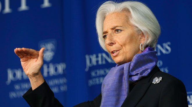 Lagarde artan global riskler için uyardı