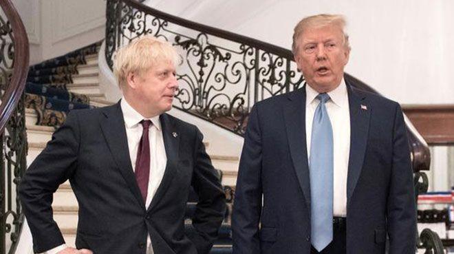 Trump ve Johnson anlaştı