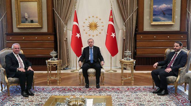 Erdoğan, TÜSİAD heyetini kabul etti
