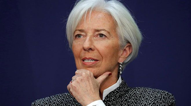 AB maliye bakanlarından Lagarde`a destek