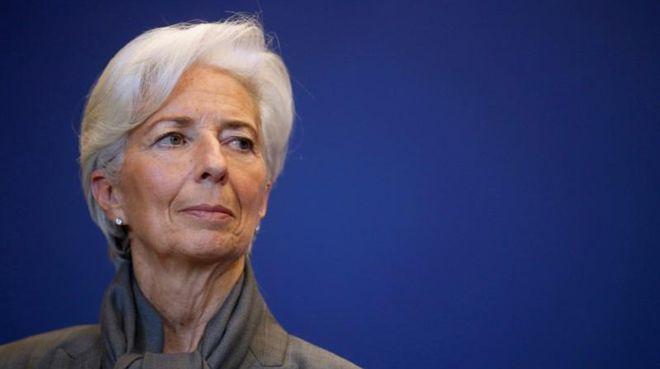 Lagarde: Global büyüme kırılgan ve tehdit altında