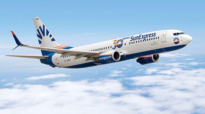 SunExpress, 1 Haziran`da iç hat uçuşlarına başlayacak
