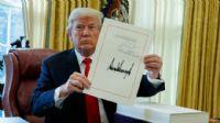 Trump, ilk yılında ekonomiden vergi yasasıyla geçti
