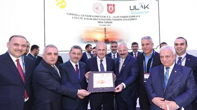 Turkcell ve Ulak Haberleşme`den iş birliği
