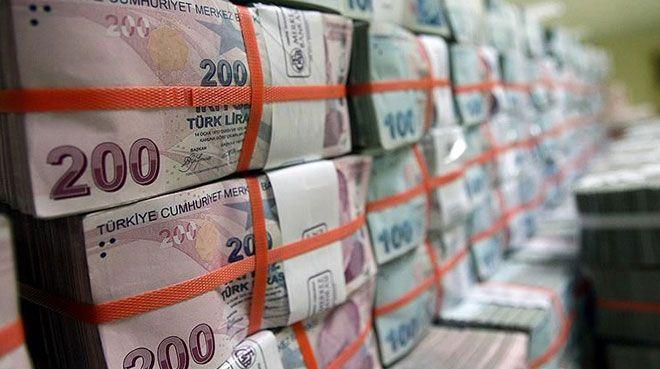 Bütçe 576 milyon lira fazla verdi