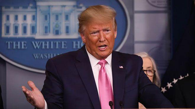 Trump: Petrolde negatif fiyatlar çok kısa süreli